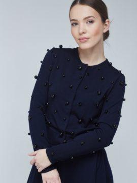 Black Purl Sweater